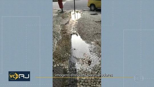 Paralisação de terceirizados da Cedae afeta reparos nas ruas do RJ
