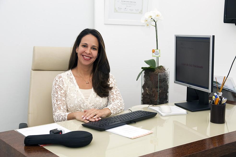Dra. Márcia Cristina Linhares Silva (CRM 601787/RJ) — Foto: Divulgação