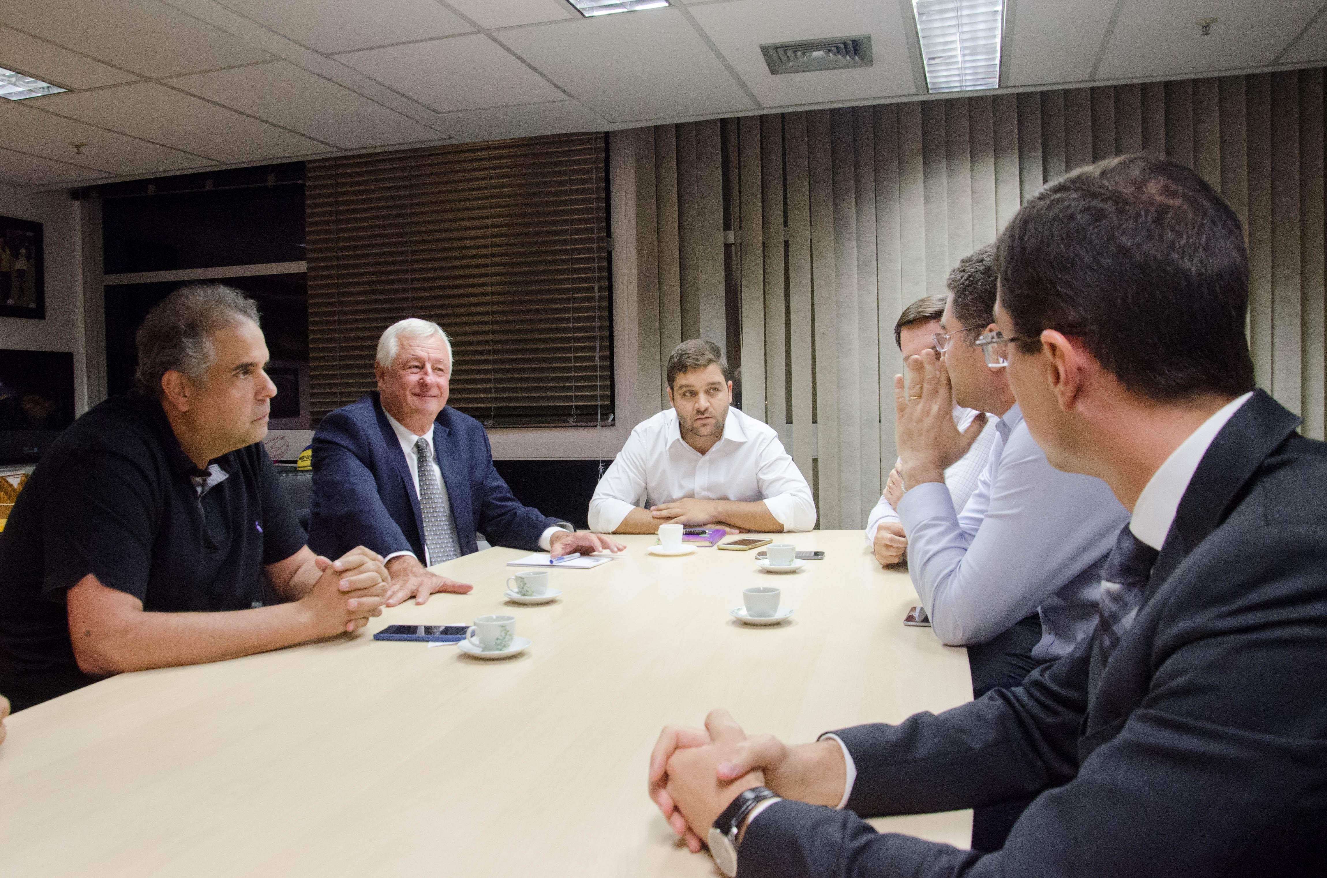 Reunião na  Secretaria de Estado de Esporte, Lazer e Juventude definiu o clássico