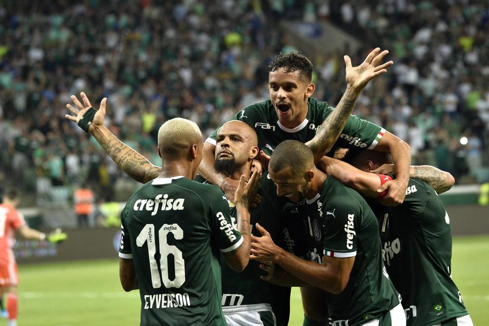 Palmeiras é pedra no sapato do São Paulo nos últimos dois anos — Foto: Marcos Ribolli/GloboEsporte.com