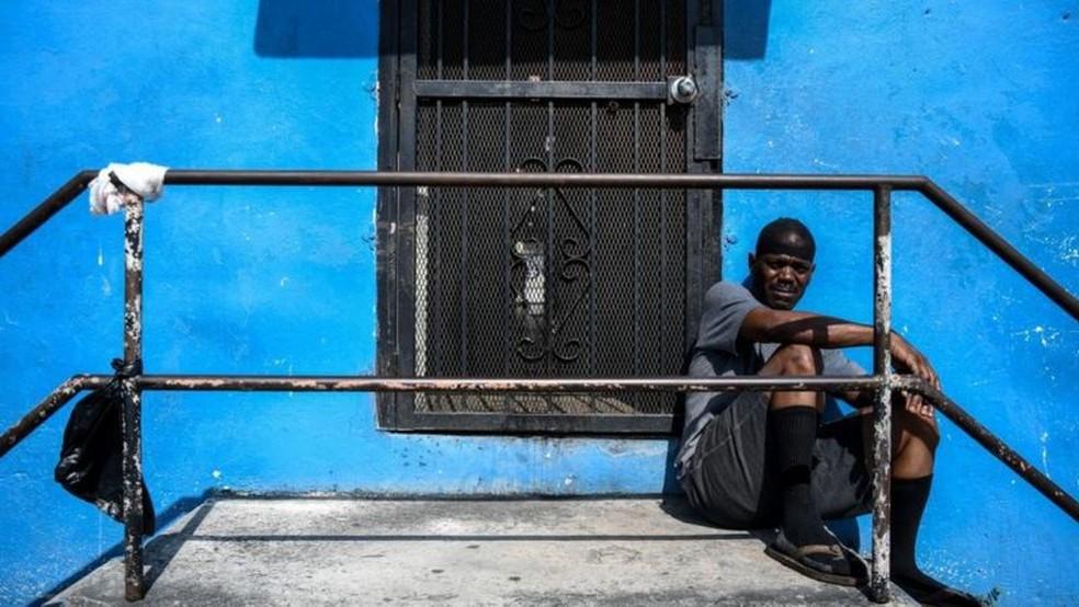 Afro-americanos são um dos grupo mais prejudicados por gentrificação em Miami — Foto: Getty Images/BBC