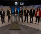 Candidatos ao Governo do Rio se encontraram no debate da Globo | Agência o Globo / Alexandre Cassiano