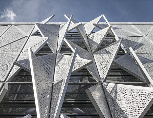 University of Southern Denmark (SDU) in Kolding is designed by Henning Larsen Architects. (Foto: Jens Lindhe)