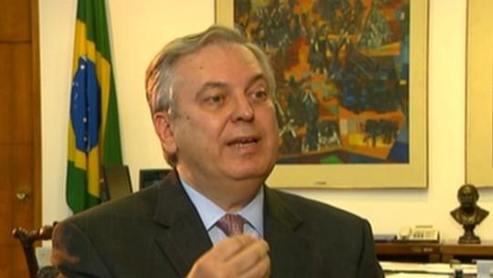 'Temos que ter liberdade de opinião', diz ministro das Relações Exteriores