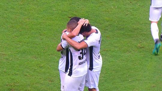Os gols de Vitória 2 x 2 Sport pela 26ª rodada do Campeonato Brasileiro da Série B