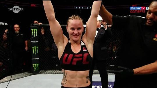 Com uma luta na nova categoria, Valentina Shevchenko já quer o cinturão peso-mosca do UFC