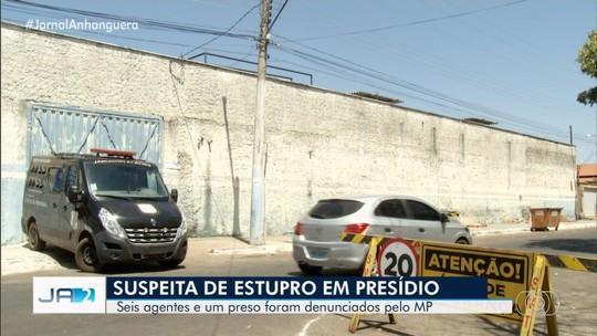 MP denuncia agentes penitenciários e preso suspeitos de estuprar detentas, em Goianésia