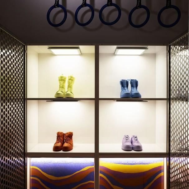 Nike Unlaced é a nova loja da marca para mulheres (Foto: Divulgação)