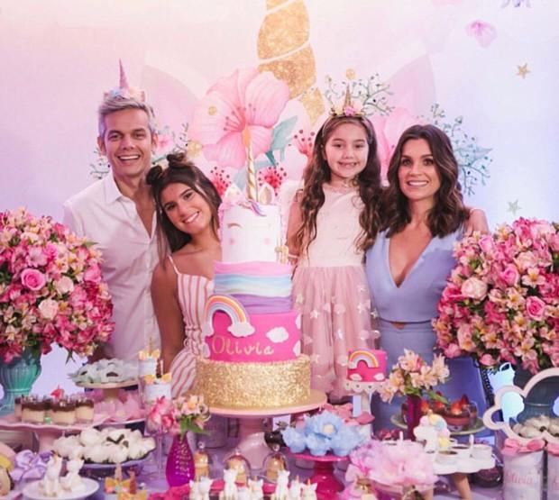 Olivia Costa, filha de Flavia Alessandra e Otaviano Costa (Foto: Divulgação)