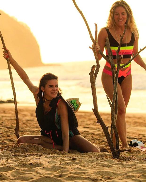 Giovanna Ewbank e Bruna Marquezine (Foto: Reprodução/Instagram)