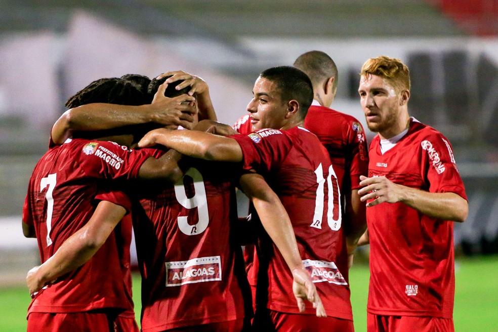 CRB venceu o Juazeirense por 2 a 1 — Foto: Ailton Cruz / Gazeta de Alagoas