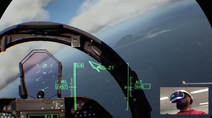 Ace Combat 7 (Foto: Reprodução / TechTudo)