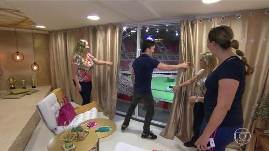 Irmãs ganham promoção para dormirem em quarto montado em ginásio olímpico no RJ