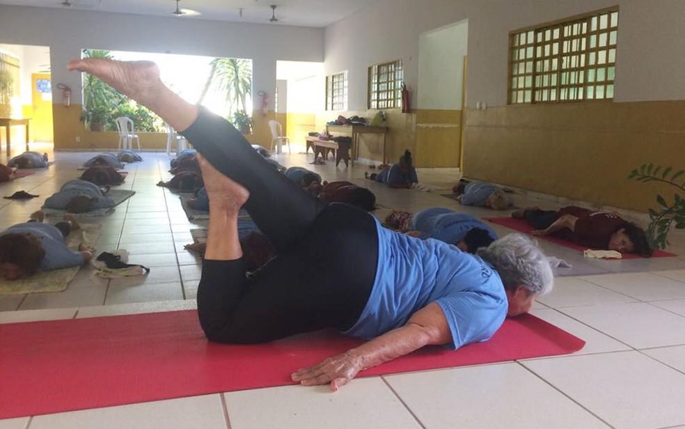 Turma começou com quatro aulas e hoje tem 48  (Foto: Bruna Barbosa/G1)