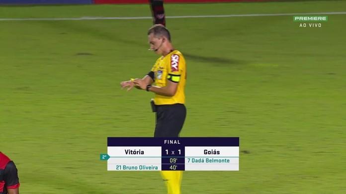 Vitória 1 x 1 Goiás: assista aos gols e melhores momentos da partida da 9ª  rodada da Série B   vitória   ge