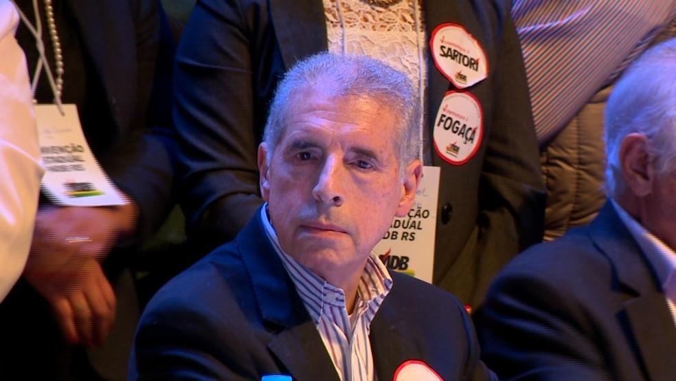 José Fogaça é candidato ao Senado pelo MDB (Foto: Reprodução/RBS TV)