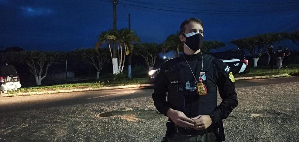 Delegado Lucas Torres, que ajudou a coordenar investigação da Operação Xeque-Mate em Rondônia — Foto: William Andrade/Rede Amazônica