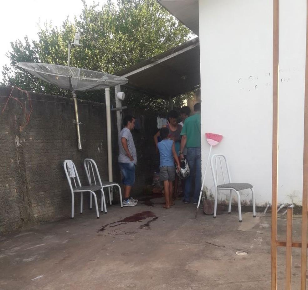 Mulher foi assassinada em uma casa na Rua Boa Vista, no Bairro Jardim Vitória, em Guarantã do Norte (Foto: Divulgação)