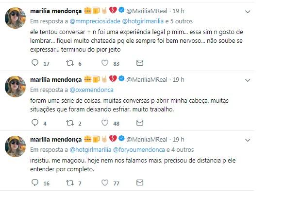 Marília Mendonça (Foto: Twitter/Reprodução)