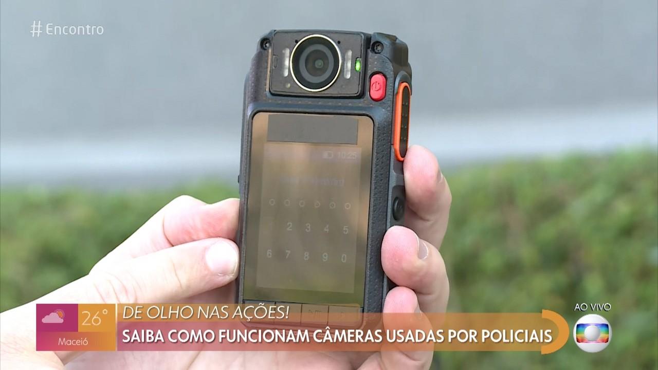 Saiba como funciona câmeras usadas por policiais
