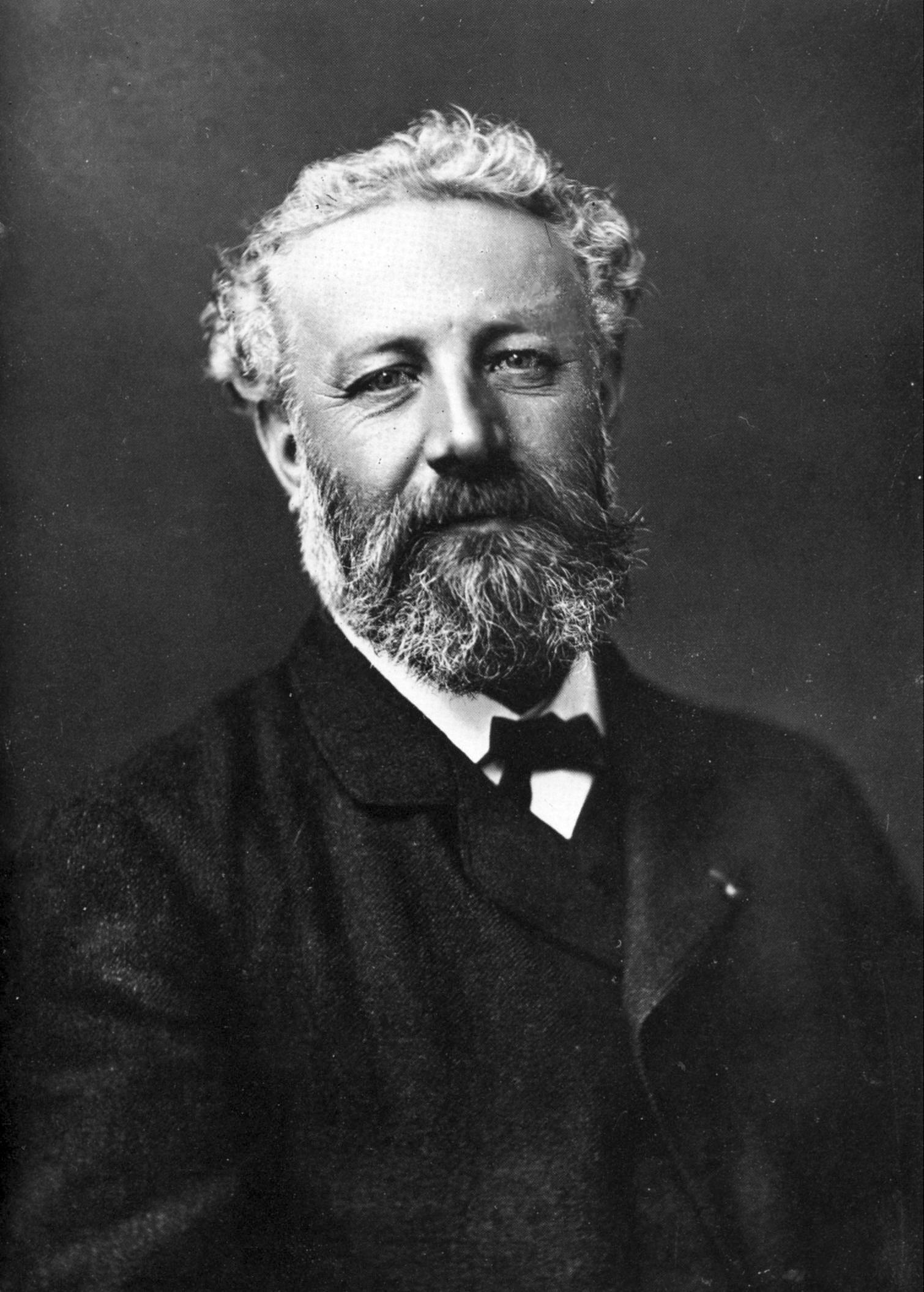 Júlio Verne faleceu aos 77 anos em março de 1905 (Foto: Wikimedia/Félix Nadar)