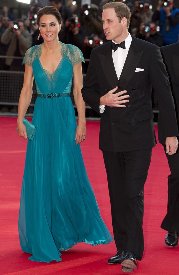 Kate Middleton e o príncipe William em evento em 2012 (Foto: Getty Images)