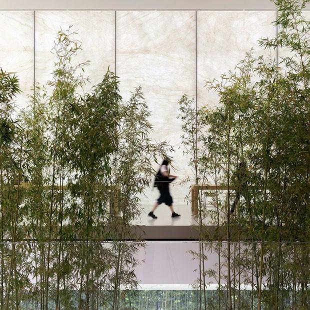 Nova loja da Apple em Macau é um oásis de tranquilidade (Foto: Divulgação)