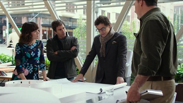 Cena dofilme O Arquiteto (Foto: Telecine Play / Divulgação)