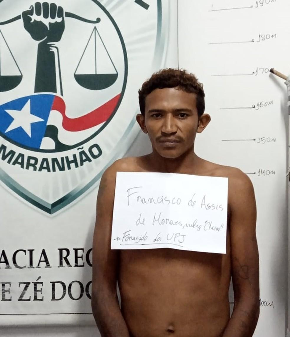 Francisco de Assis Morais foi encaminhado para a Unidade Prisional de Ressocialização de Zé Doca — Foto: Divulgação/Polícia