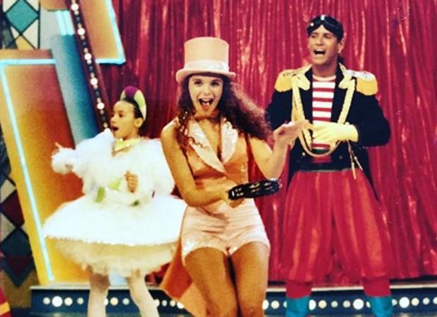 Mylla Christie comandou o programa Clube da Criança, na extinta TV Manchete, entre 1993 e 1994 (Foto: Reprodução/Instagram)