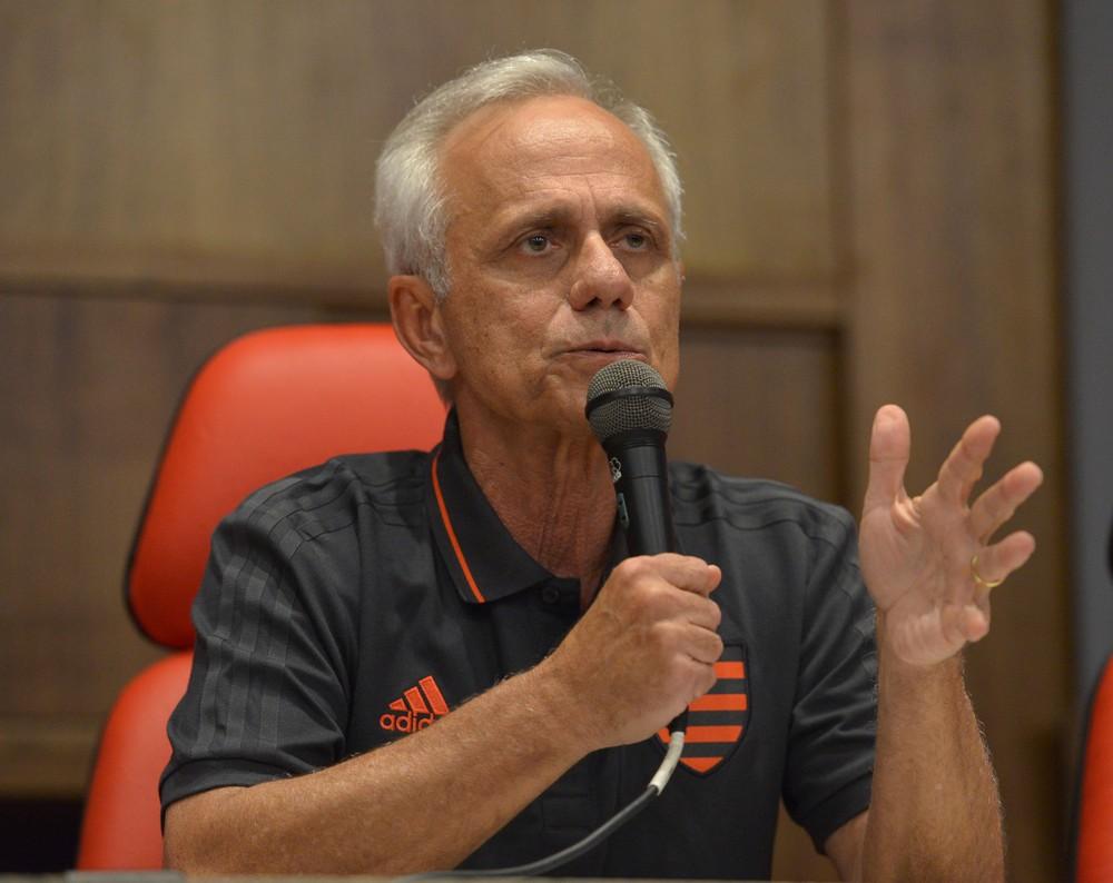 Reinaldo Belotti é o CEO do Flamengo na gestão Rodolfo Landim — Foto: André Durão / GloboEsporte.com