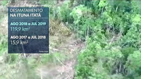 94% de terra indígena no Pará são declaradas por grileiros, diz ONG