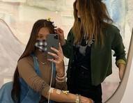 "Bella Hadid posta fotos de luta contra Doença de Lyme: ""Encontrando tempo para meu tratamento"""