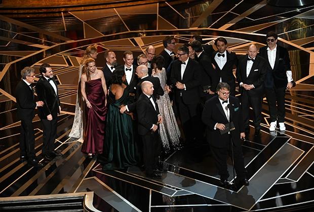 'A Forma da Água' leva o prêmio de Melhor Filme (Foto: Getty Images)