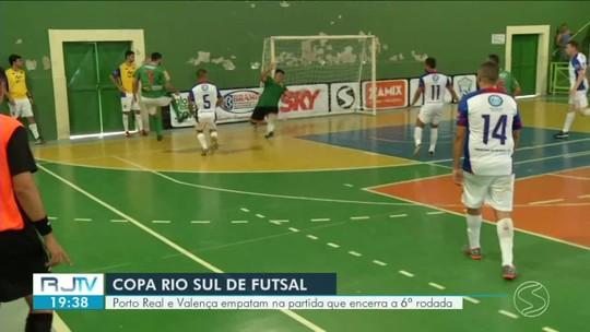 Porto Real busca empate heroico no fim e complica vida de Valença no grupo D