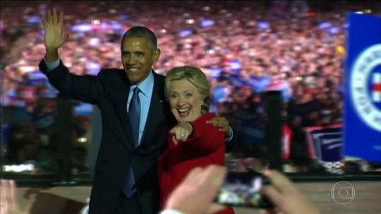 EUA elegem próximo presidente com o país dividido, nesta terça-feira (8)