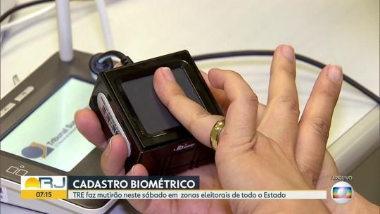 TRE-RJ faz plantão, neste sábado, para eleitores que precisam fazer o cadastramento biométrico