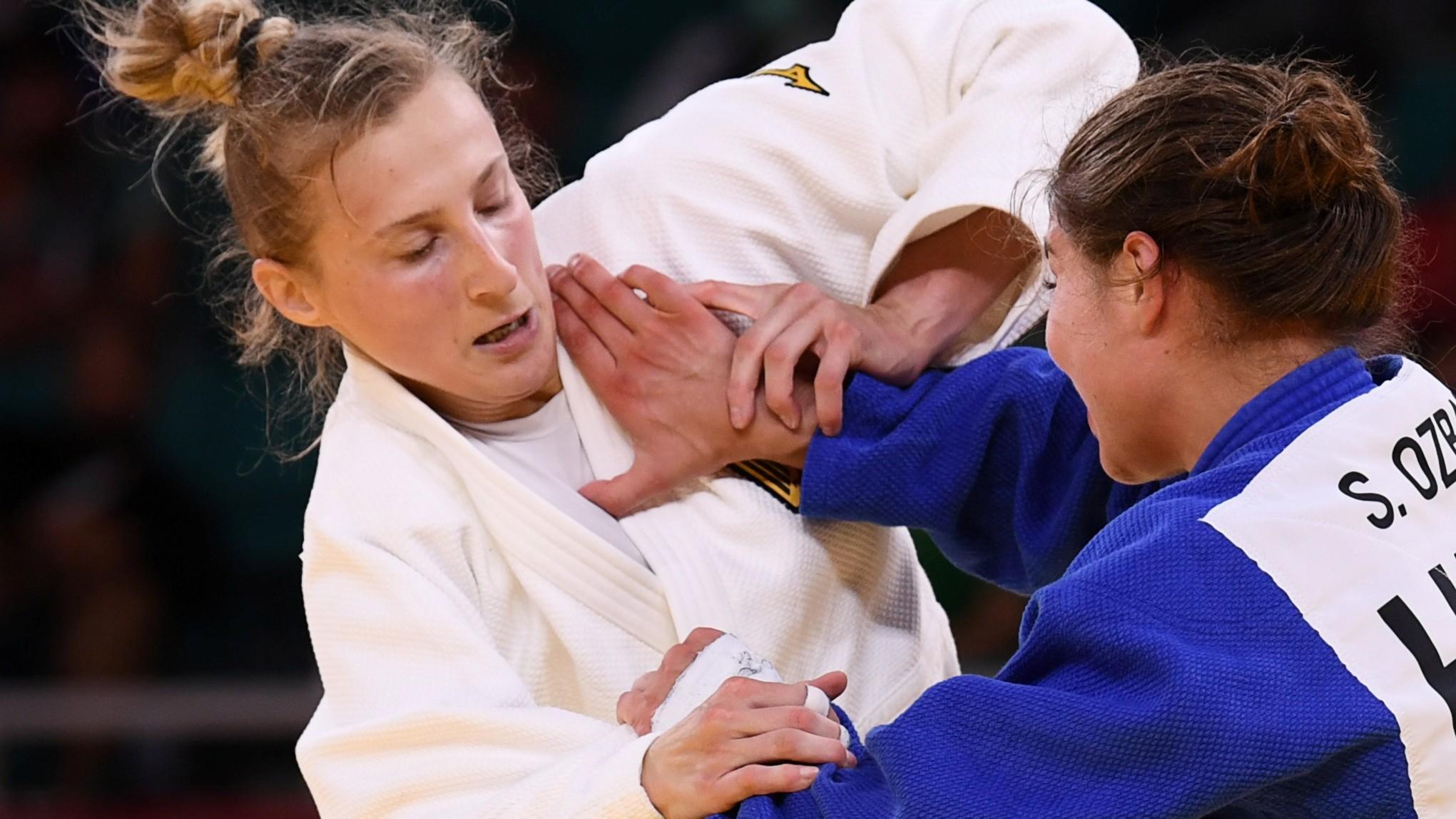 Judoca alemã que levou tapas nas Olimpíadas defende técnico; VÍDEO