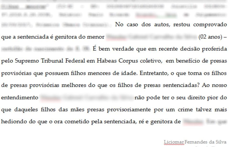 Decisão juiz de Jaraguá, Goiás (Foto: Reprodução)