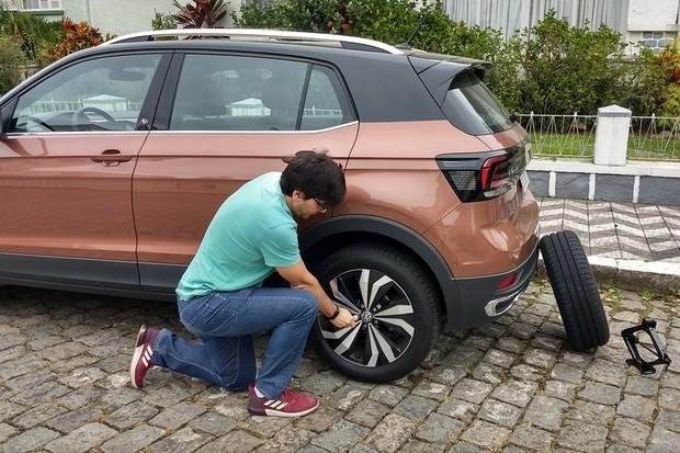 Volkswagen T-Cross Estepe (Foto: Allyne Antoni)