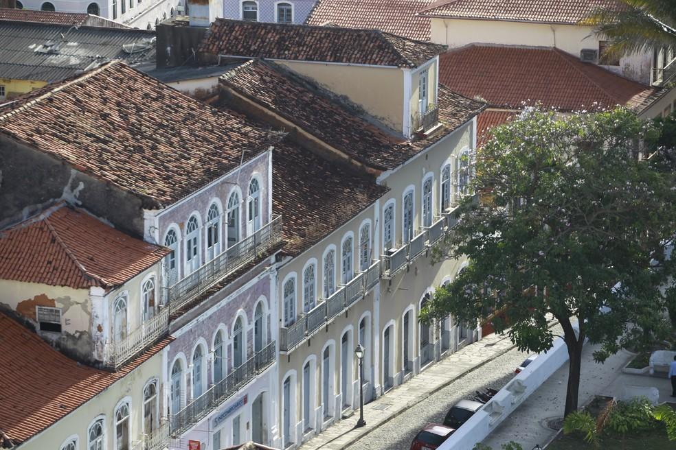 Vista dos casarões do Centro Histórico de São Luís. (Foto: Paulo Soares/O Estado)