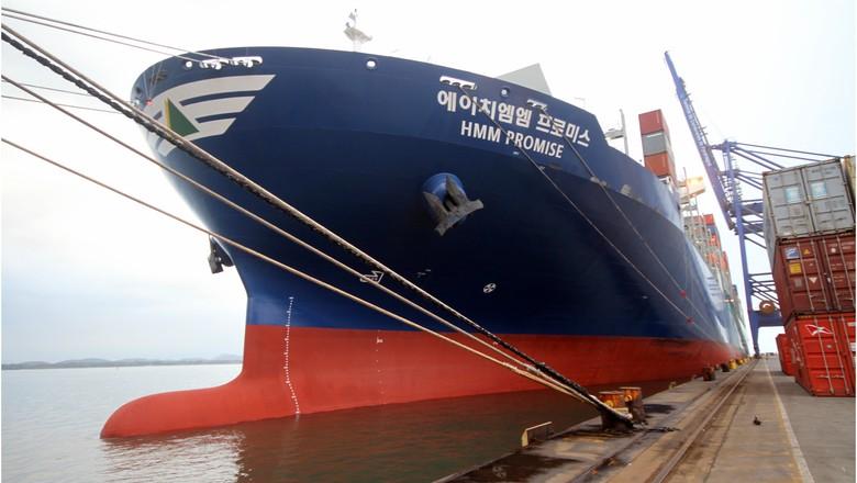 navio tcp porto (Foto: Divulgação/ TCP)