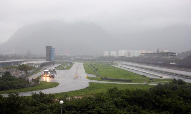 Panorâmica do Autódromo Nelson Piquet, em Jacarepaguá, no Rio, em 2009