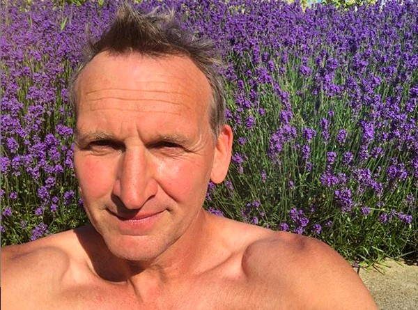 O ator Christopher Eccleston (Foto: Instagram)