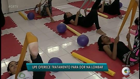 Curso da UPE em Petrolina oferece tratamento gratuito para pessoas que sofrem com dor na lombar