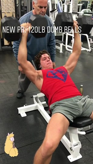 Joseph Baena, filho de Arnold Schwarzenegger (Foto: Instagram)