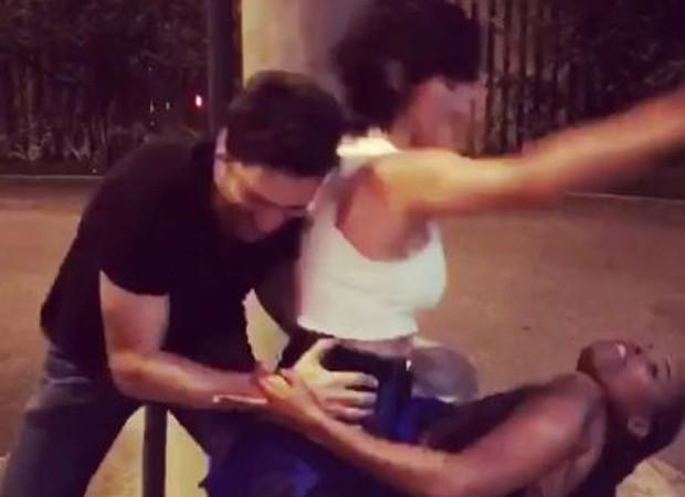 Nanda Costa faz dancinha engraçada nos Estúdios Globo (Foto: Reprodução/Instagram)