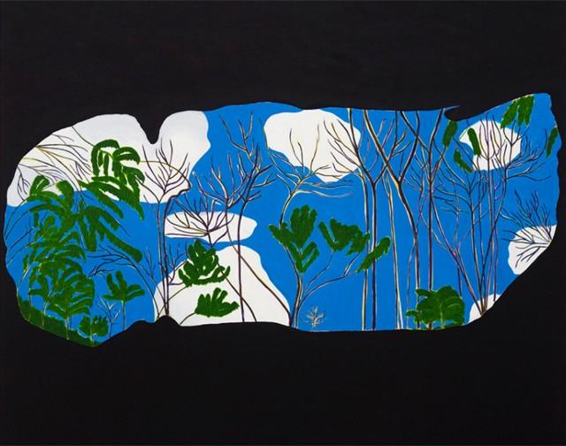 """""""Grotto"""", 2014, de Patrícia Leite na Mendes Wood (Foto: Divulgação)"""