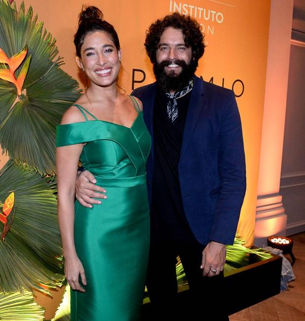 Giselle Itié e Marcos Winter (Foto: Francisco Cepeda/AgNews)
