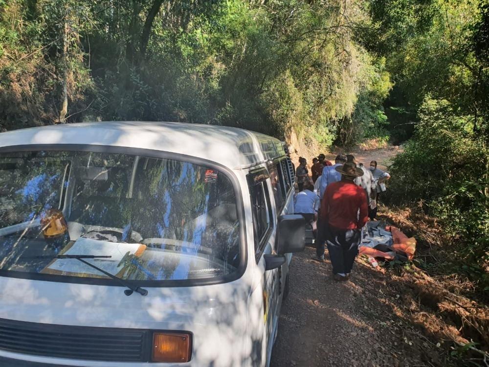 Bombeiros encontram corpo de homem em córrego no interior de Bento Gonçalves